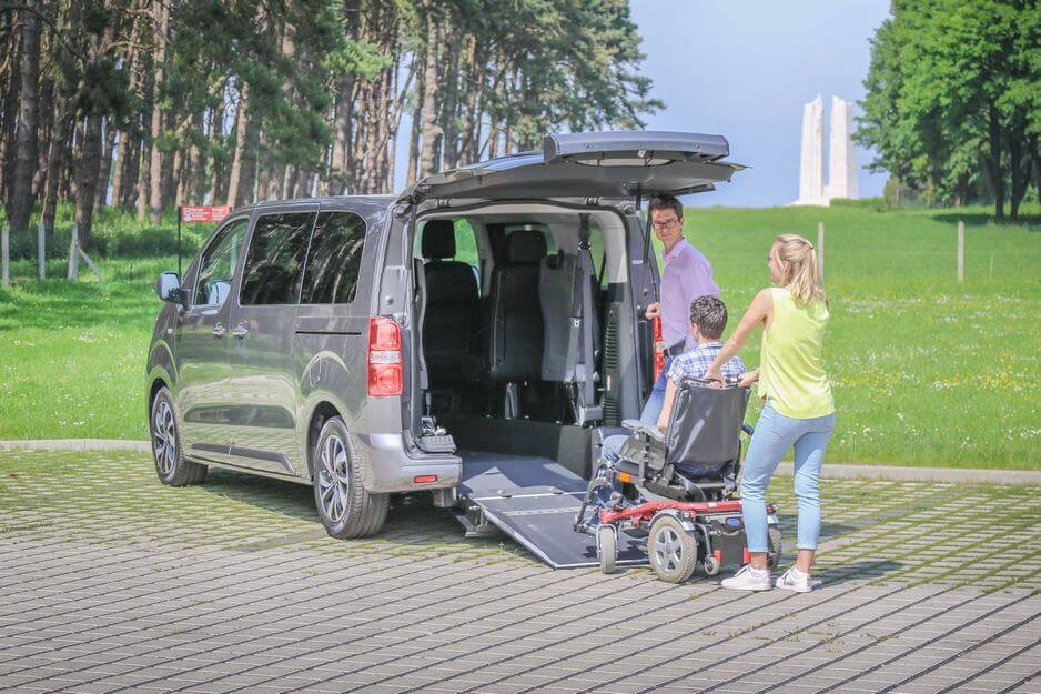 Découvrez le Citroën SpaceTourer Family, un monospace confortable hyper accessible !